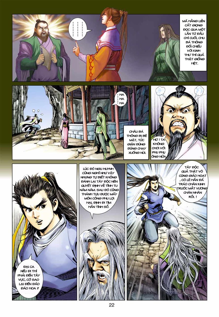 Anh Hùng Xạ Điêu anh hùng xạ đêu chap 41 trang 21