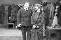 "Кадр из фильма Чарли Чаплина ""Танго-путаница"" (1914) - 5"