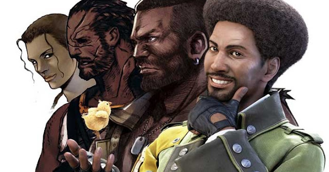 darkskin final fantasy characters