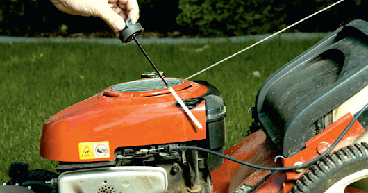 Winterizing lawn and landscape tools in Boise, Meridian, Nampa, and Eagle, Idaho.