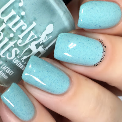 girly bits bleu de tes yeux swatch