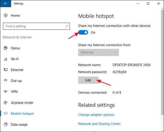 Cara Mudah Menjadikan Laptop Pc Kalian Sebagai Hotspot Dan Sekaligus Server Tanpa Pakesoftware Ramanewss