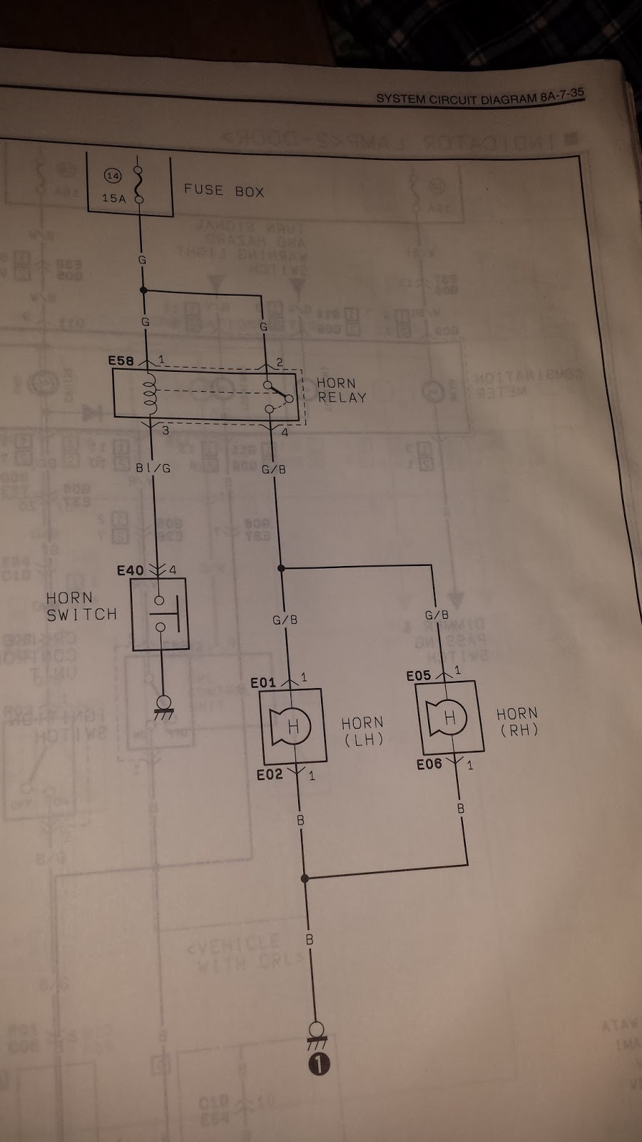 Mike's Projects: Horn wiring diagram on