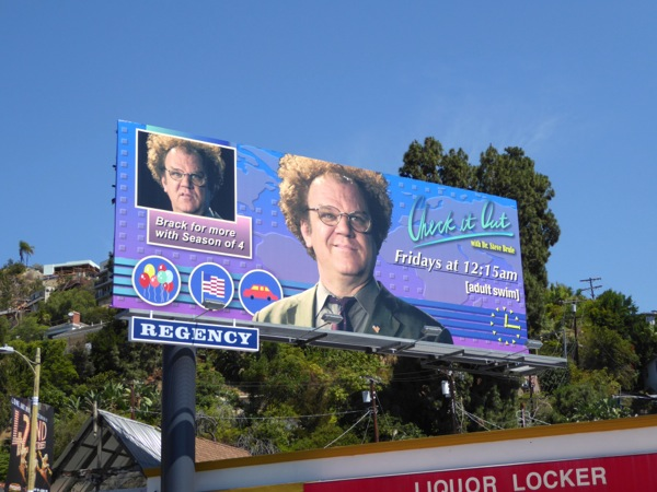 Check it Out Dr Steve Brule season 4 billboard