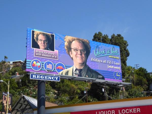 Check it Out Dr Steve Brule season 4 billboard