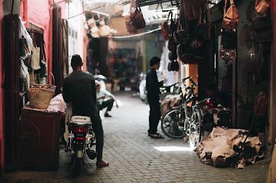 Medina and Motorbike