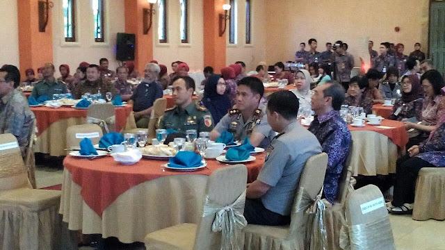Dandim Kediri Bersama Muspida ,Hadiri Sertijab Kepala RS Bhayangkara Kediri