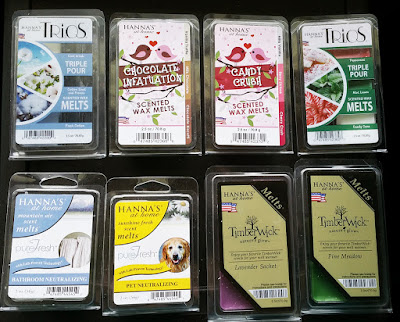 Hanna's Candles (CandleMart) Scented Wax Melts