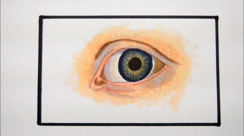 Tutorial Menggambar Dan Mewarnai Mata Realistis Dengan Copic