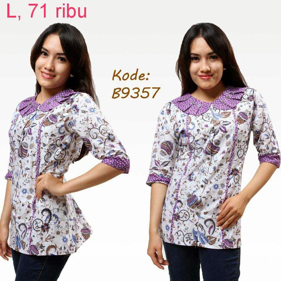 Desainer Baju Batik Wanita: Contoh Model Baju Batik Kerja