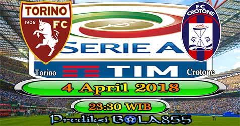 Prediksi Bola855 Torino vs Crotone 4 April 2018