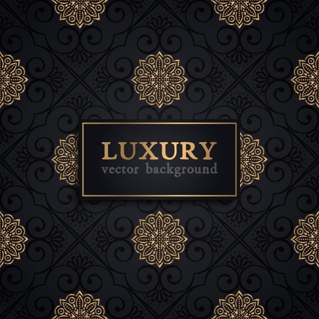 Luxury vector pattern Free Vector