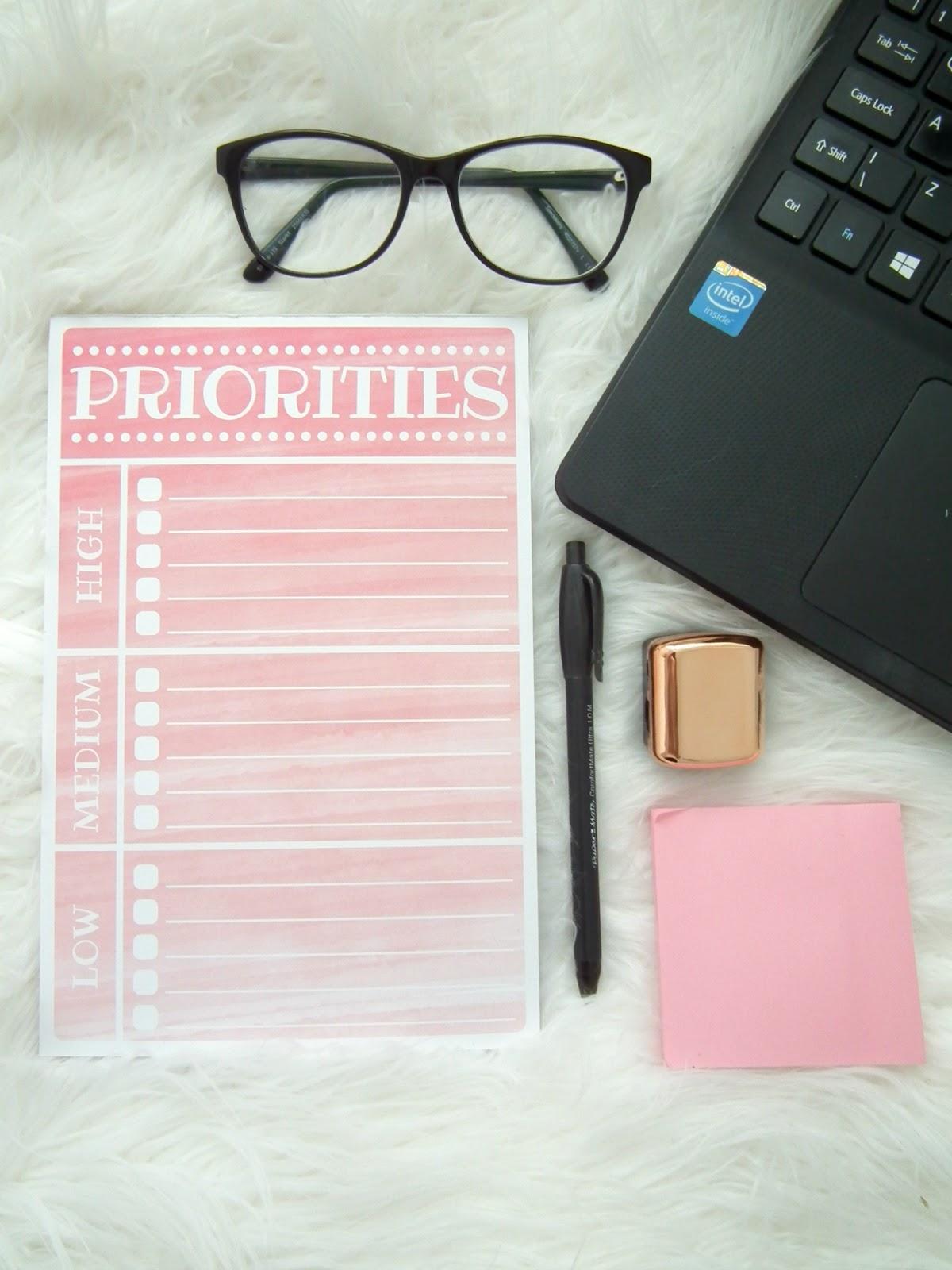 A Blogging To Do List