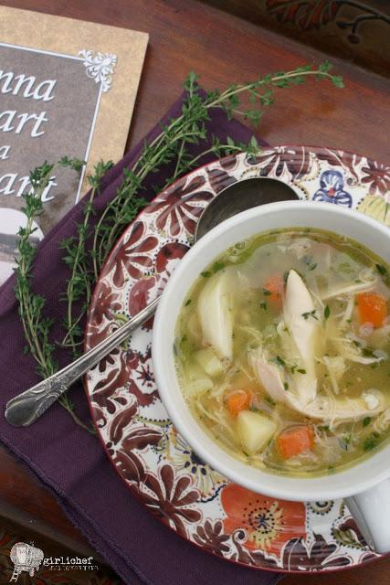 Garlicky Chicken Soup