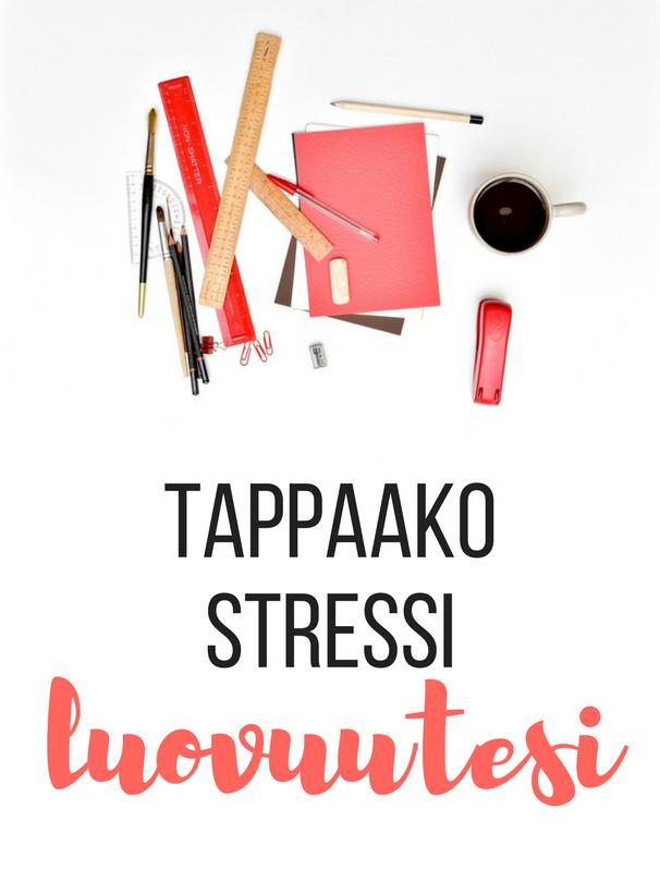 Stressi vaikuttaa luovuuteen