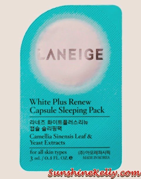 New Laneige White Plus Renew Range, laneige, Laneige White Plus Renew, Capsule Sleeping Pack, korean skincare, korean beauty