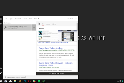 Memanfaatkan Search dan Cortana di Windows 10 October Update