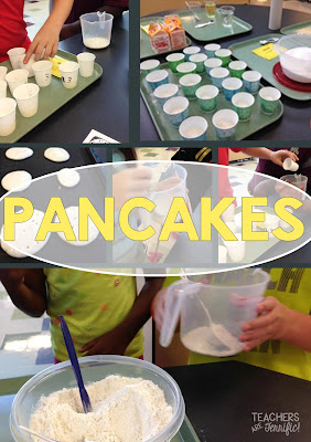 STEM Challenge: Kids love this one because it involves food! After testing a recipe to determine the right amount of ingredients kids design the ultimate pancake -- and eat it!