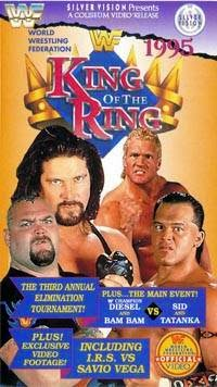 WWF / WWE - King of the Ring 1995 - Video cover