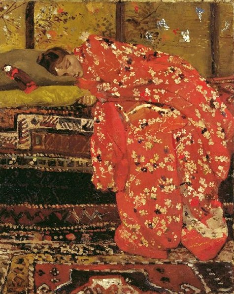 It S About Time A Few Japonisme Paintings By European Artists