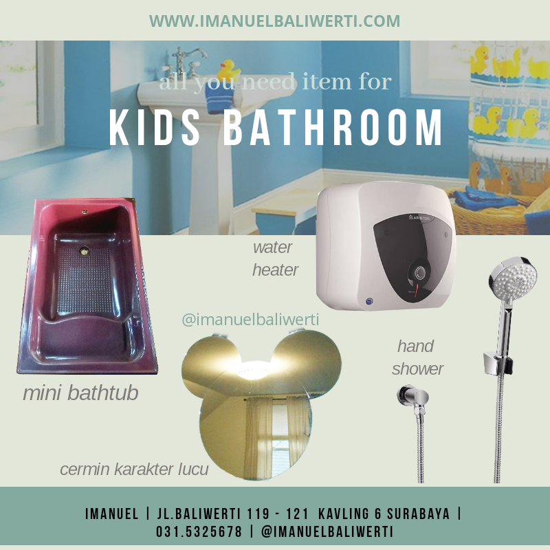 jual toilet peralatan kamar mandi IMANUEL baliwerti surabaya