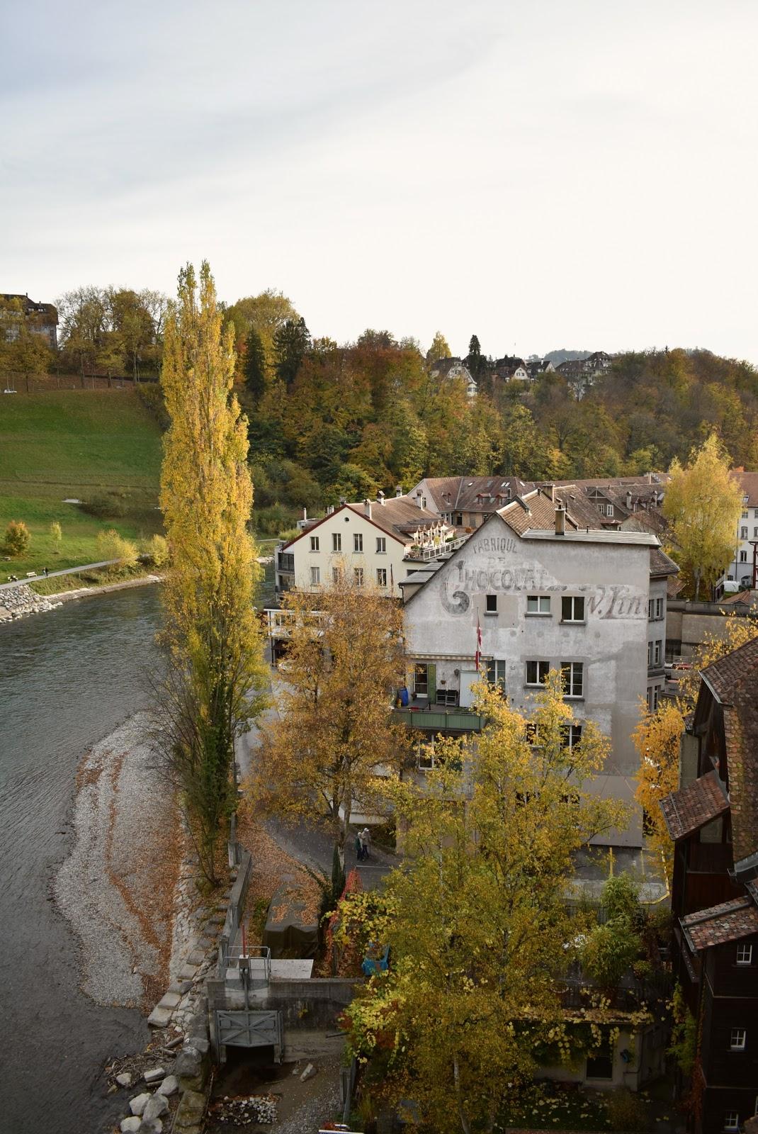 berna outono suiça