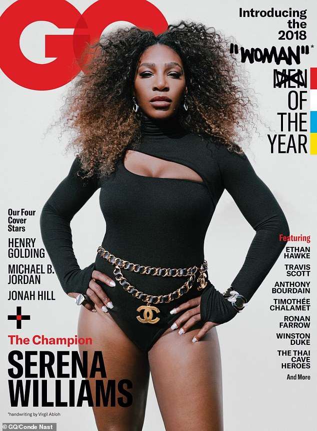 """Serena Williams is GQ's """"Woman"""" of The Year"""