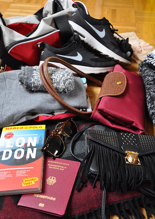 How to pack for a short trip: LONDON