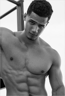 Sexy model Jordan Torres does new sexy shirtless photo shoot.  See photo spread at JasonSantoro.com