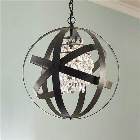 Glam Metal Strap Lantern