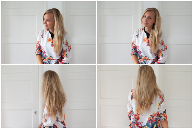 Review Irresistible Me hair extensions, silky touch, girl, blond hair, fashion, fashionblogger,