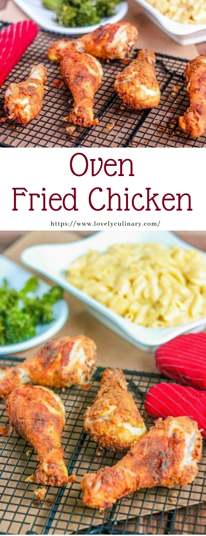 Oven Fried Chicken #recipe #dinner