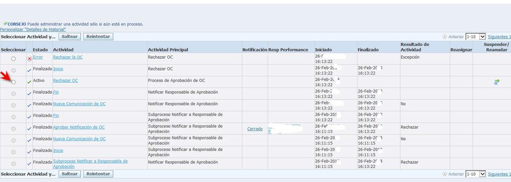 BLOG DE CMAV: Rechazar un release en Oracle EBS