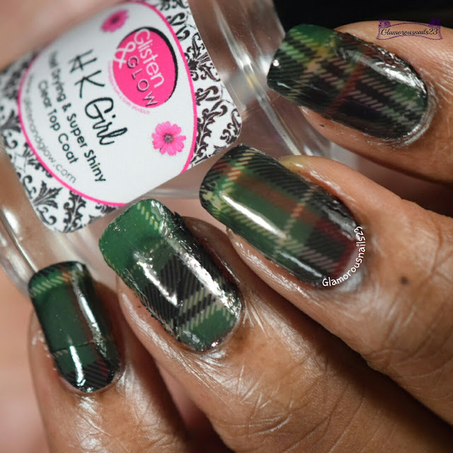 Born Pretty Store Plaid Water Decals