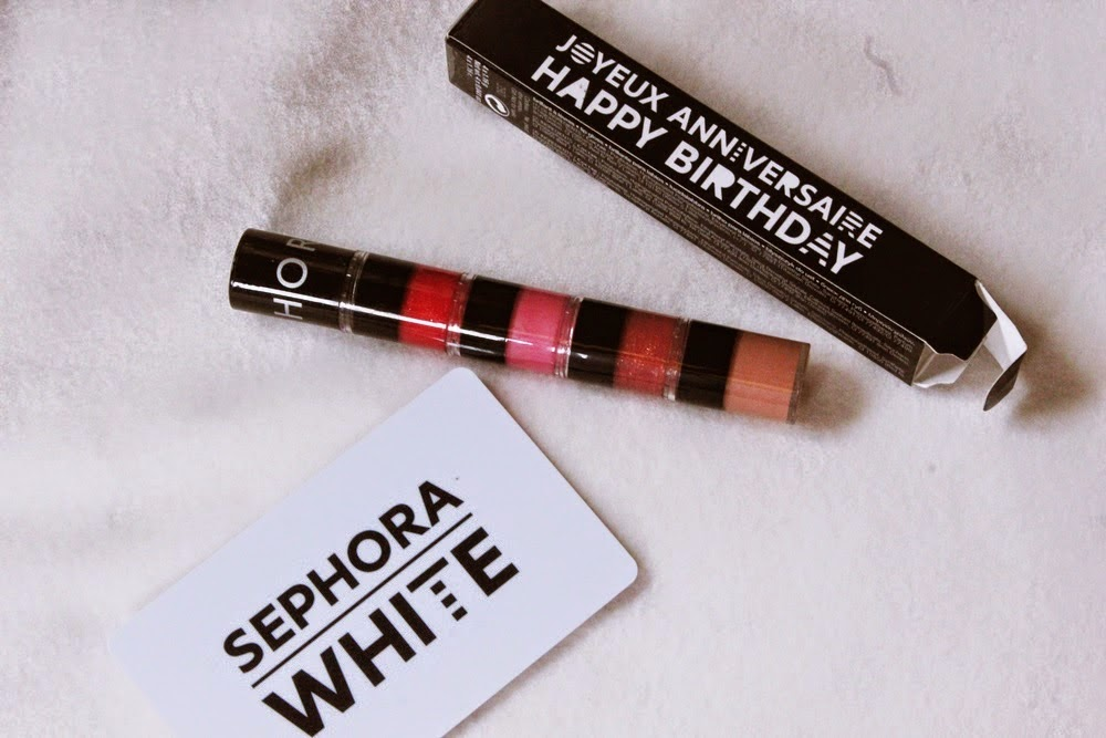 Sephora White Card Birthday Gift 2014JPG