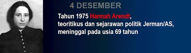 Hari kematian Hannah Arendt