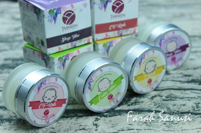 Tasneem Balm Kit Lengkap Untuk Ibu Dan Bayi