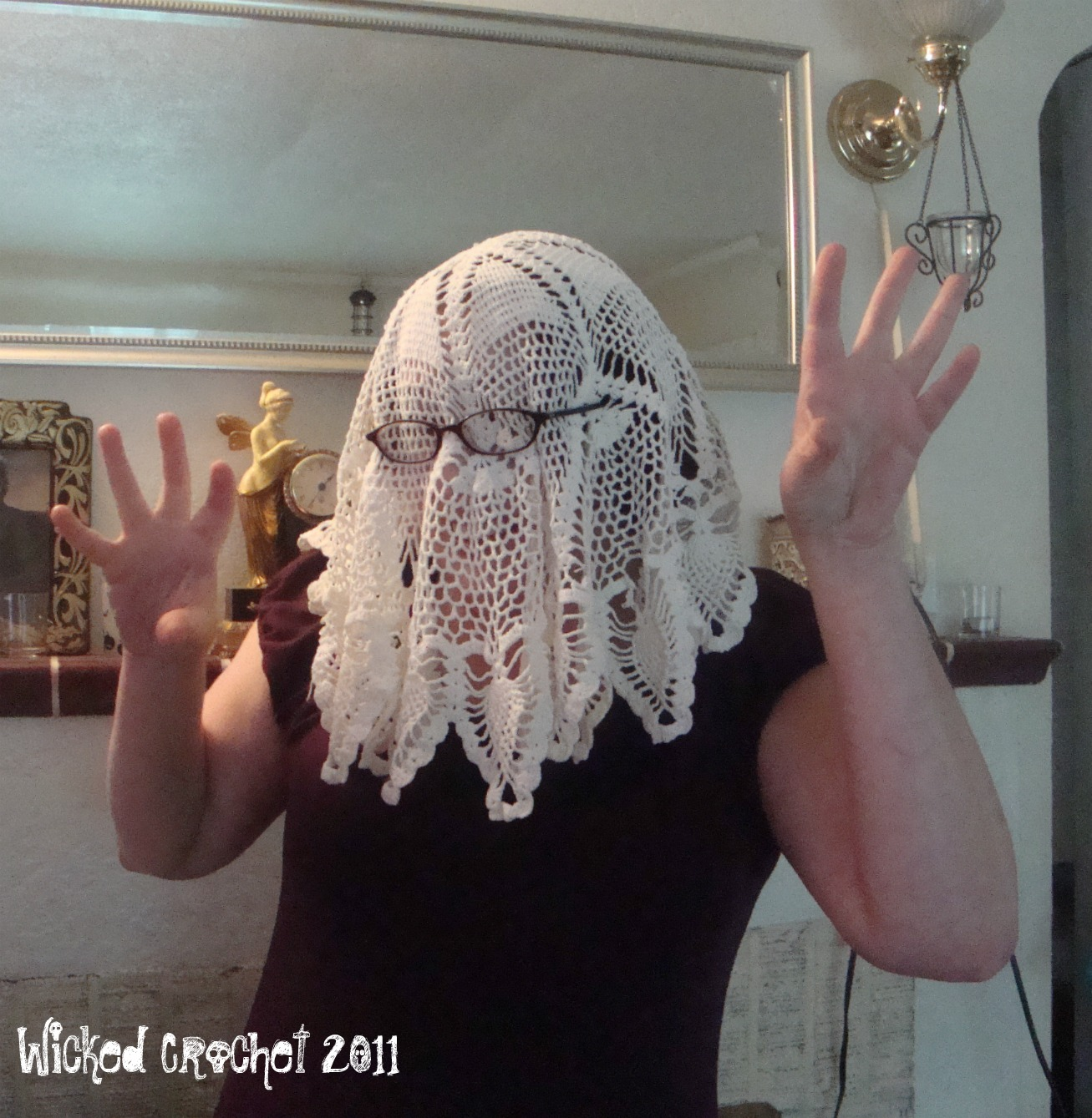 Crazy Halloween Decorations: Wicked Crochet: Cheap Halloween Costumes