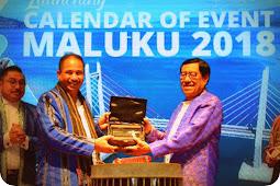 Kementerian Pariwisata Resmikan  Calendar of Event (CoE) Maluku 2018