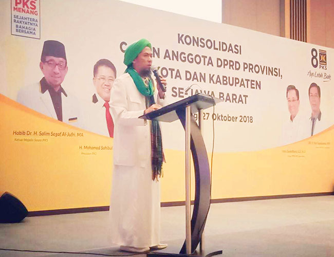 FPI Jawa Barat siap bergerak menangkan PKS