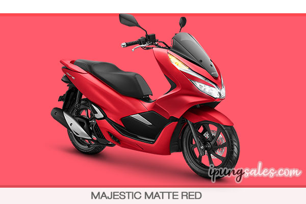 honda-pcx-150-matte-red