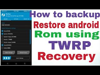 Backup And Restore ROM With ClockWorkMod (CWM) Recovery