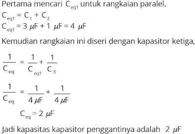 Jawaban soal fisika tentang listrik statis nomor 11