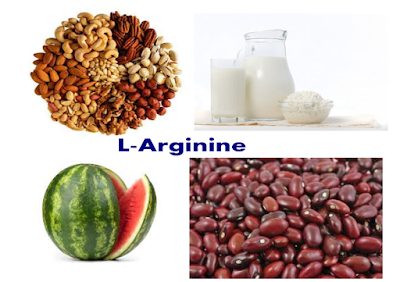 Food rich in L-Arginine