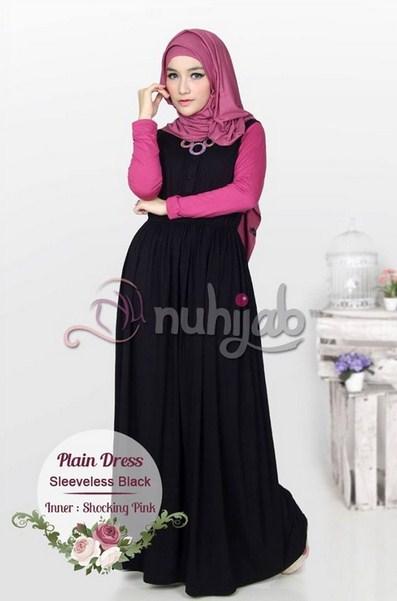 Model Long Dress Untuk Lebaran Terbaru