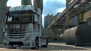 Mercedes Actros MP4 Dirty skin