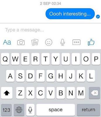 What Does Facebook Messenger Symbols Mean?