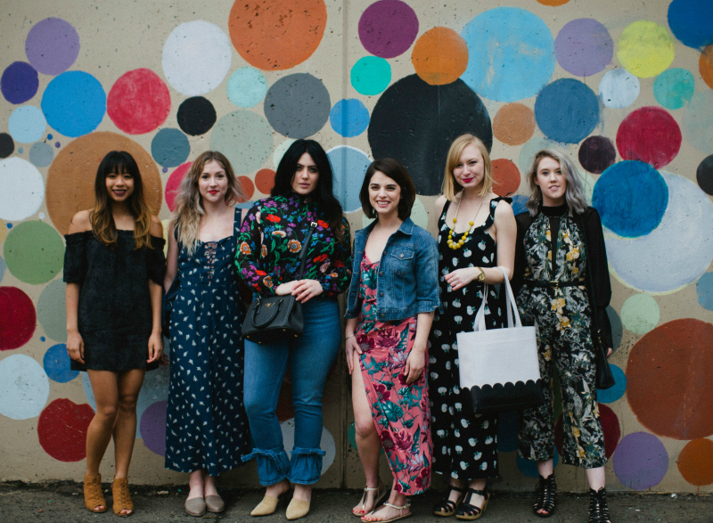 Blogger Style - Florals? For Spring?   Organized Mess
