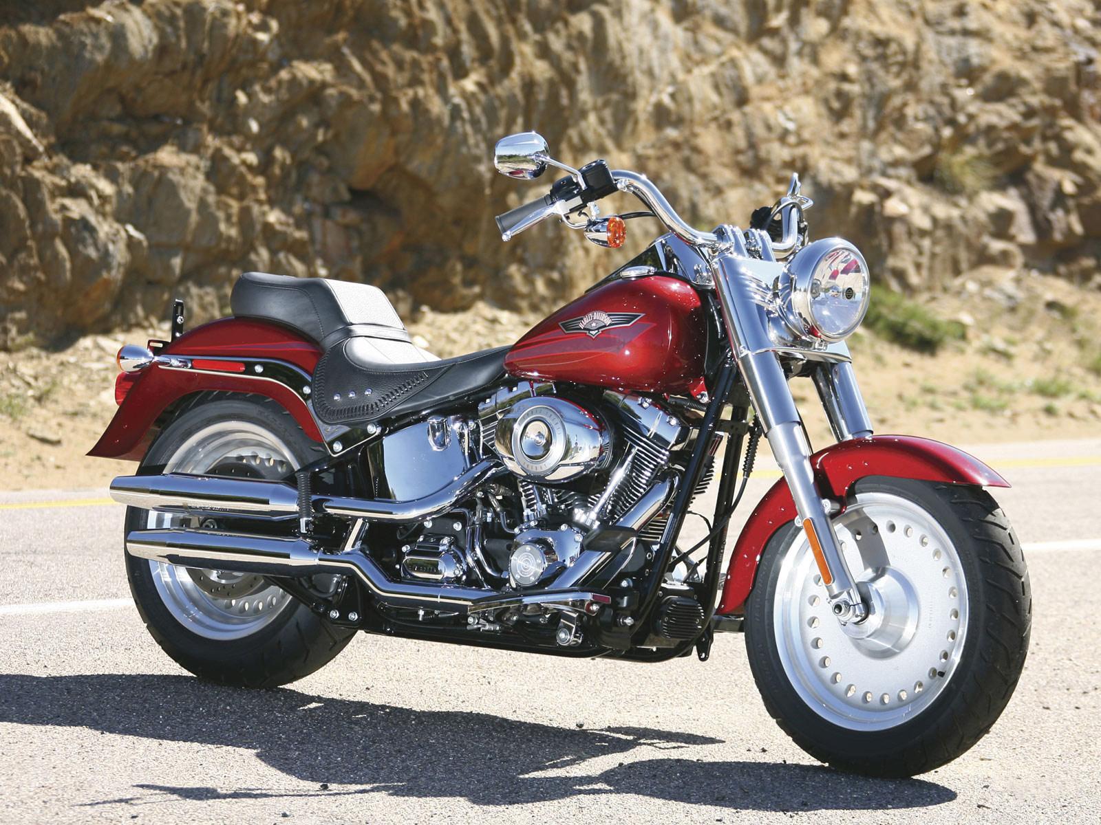 Harley Davidson: FLSTF Softail Fat Boy 2008 Harley-Davidson Pictures