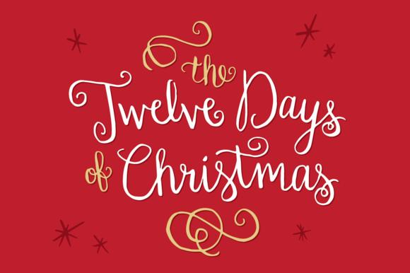 Twelve Days Of Christmas Notes.Christ Lutheran Vail Church Twelve Days Of Christmas